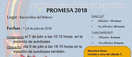 Acampada de la Promesa -2018