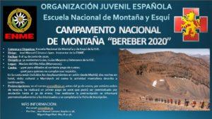 "Campamento ""Bereber 2020"""