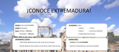 Excursión a Extremadura