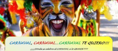 Carnaval 2021 en y con Canarias y Asturias.